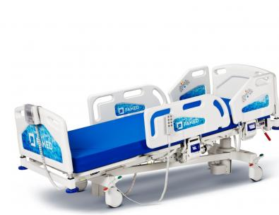 Łóżko szpitalne Famed Nano – Pozycja anty-Trendelenburga