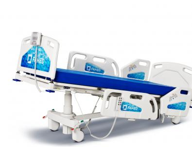 Łóżko szpitalne Famed Nano – Pozycja Trendelenburga