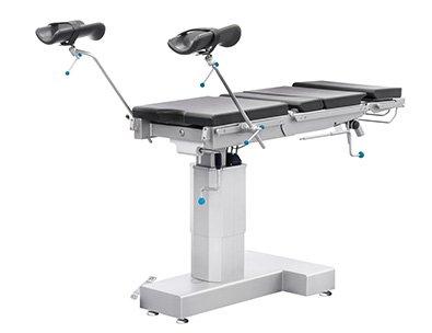 Pozycja ginekologiczna stołu operacyjnego Famed SU-02