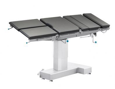 Stół operacyjny z przechyłem bocznym – regulacja